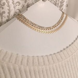 Forever 21 set of 3 Gold Chokers